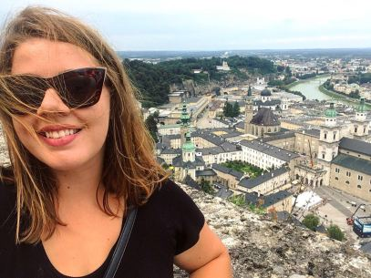 Overlooking Salzburg.