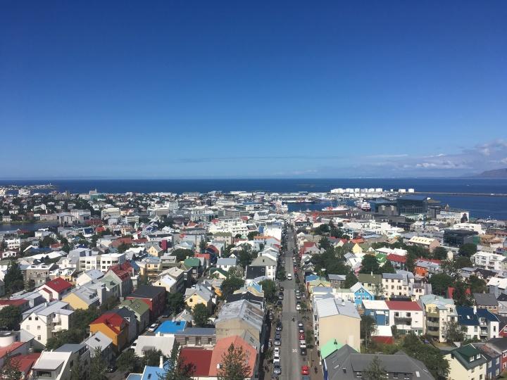 One day inReykjavík.