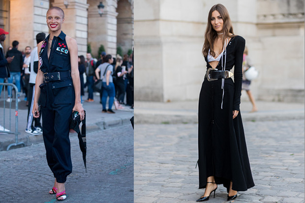Please make it stop: Wide waist belts are back